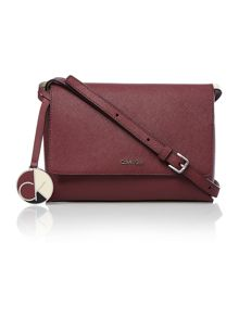 Sofie burgundy cross body bag
