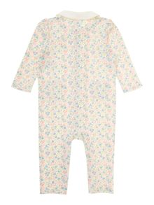 Polo Ralph Lauren Baby Girls Floral All-In-One