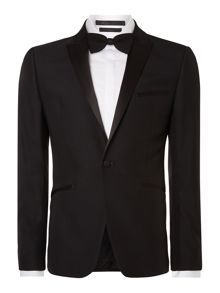 Kenneth Cole Dusk tuxedo jacket with satin peak lapel