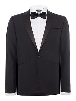 Slim Fit Dusk tuxedo jacket with satin peak