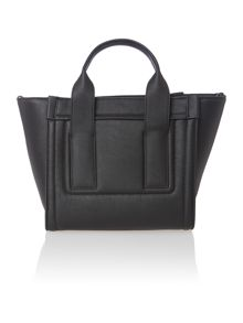 Carston black small trapeze bag