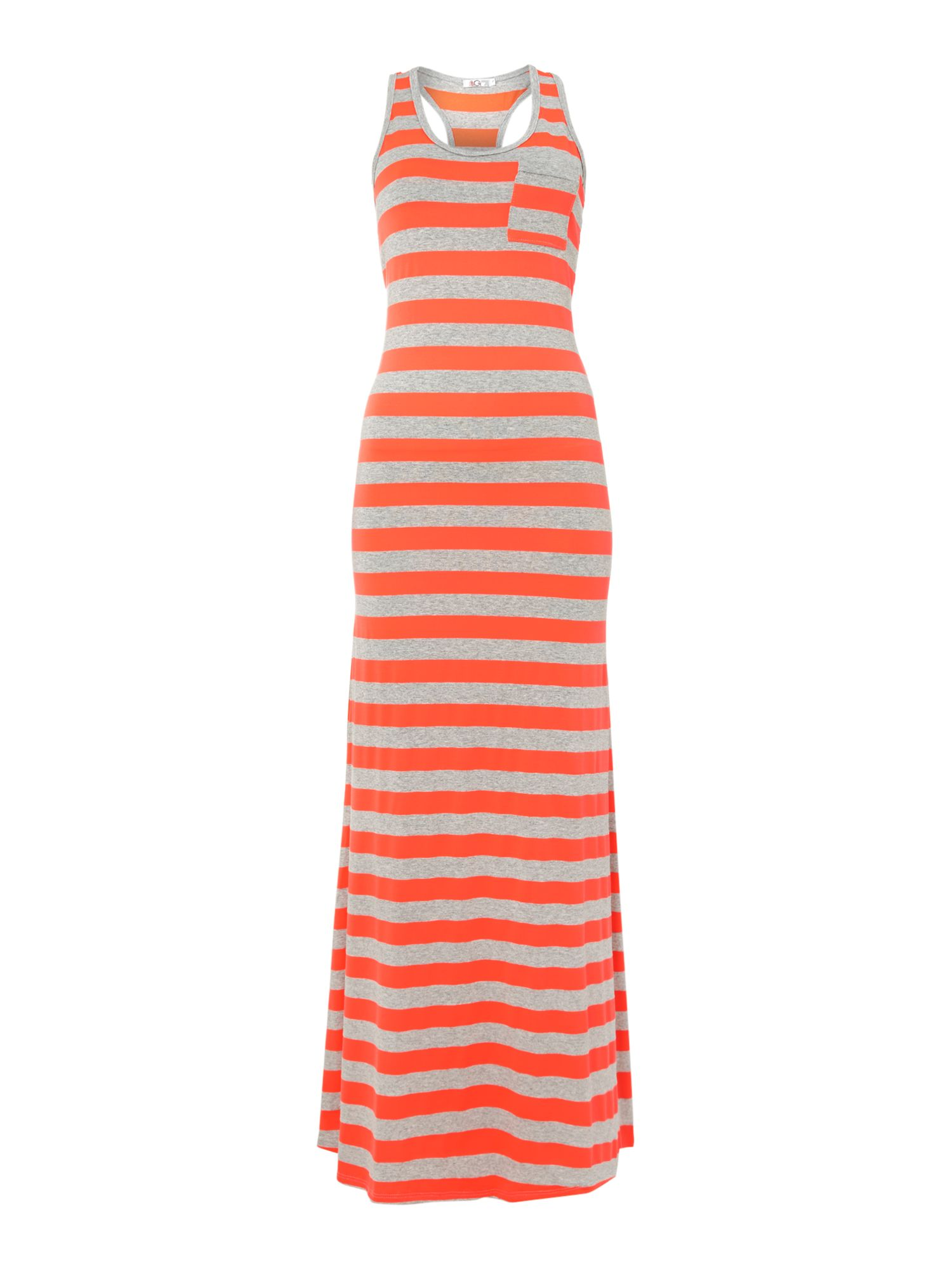 Maxi Jersey Stripe Dress