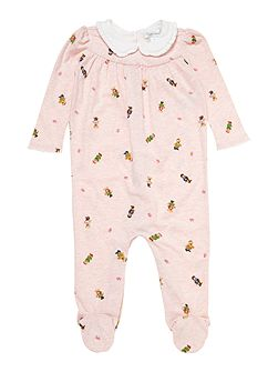 Polo Ralph Lauren Babys Teddy Print All-In-One