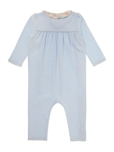 Polo Ralph Lauren Baby Girls Striped Wrap All-In-One