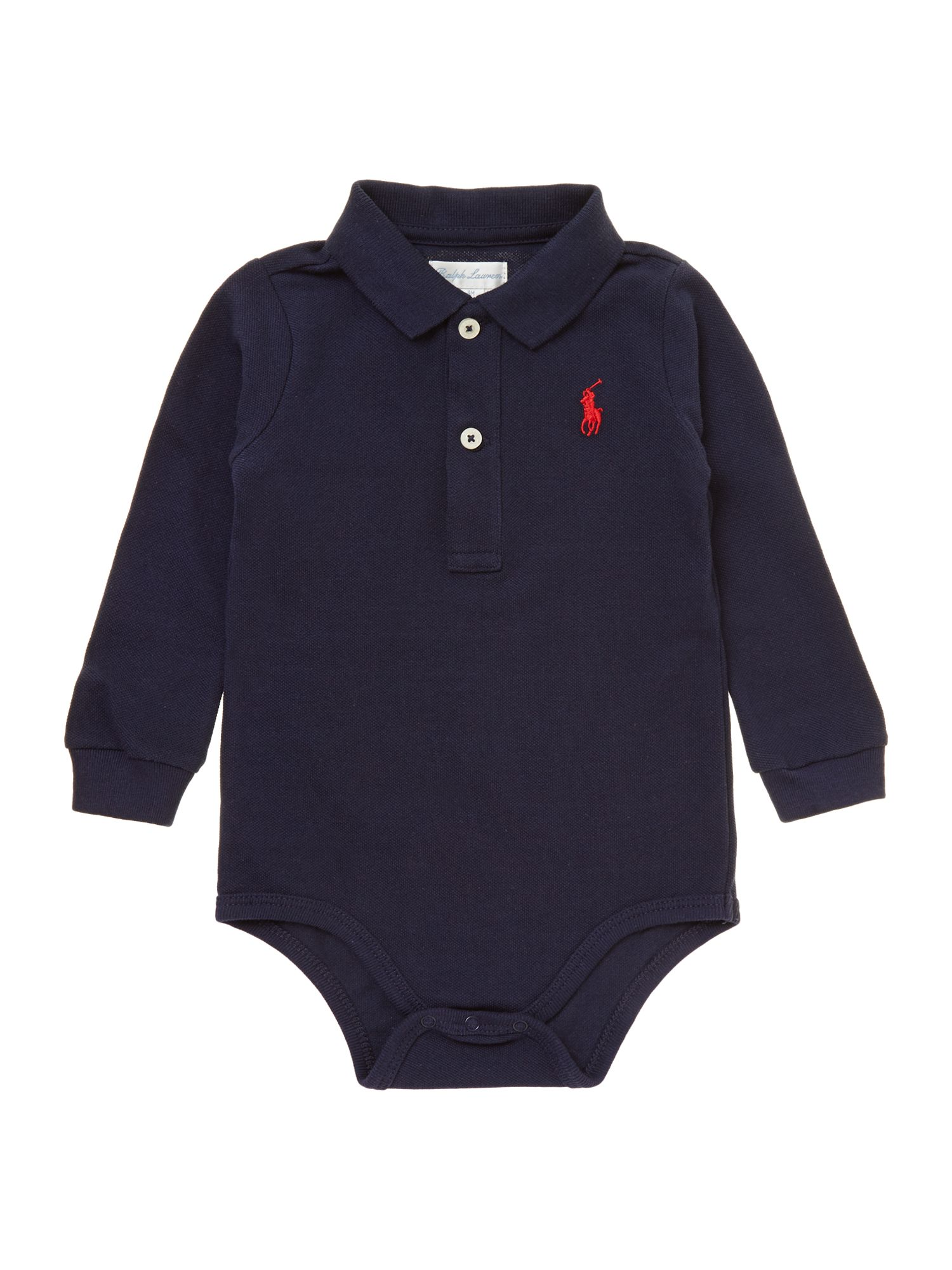 Baby boys polo body suit