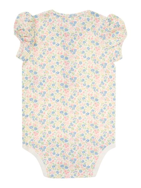 Polo Ralph Lauren Baby Girls Floral Body Suit