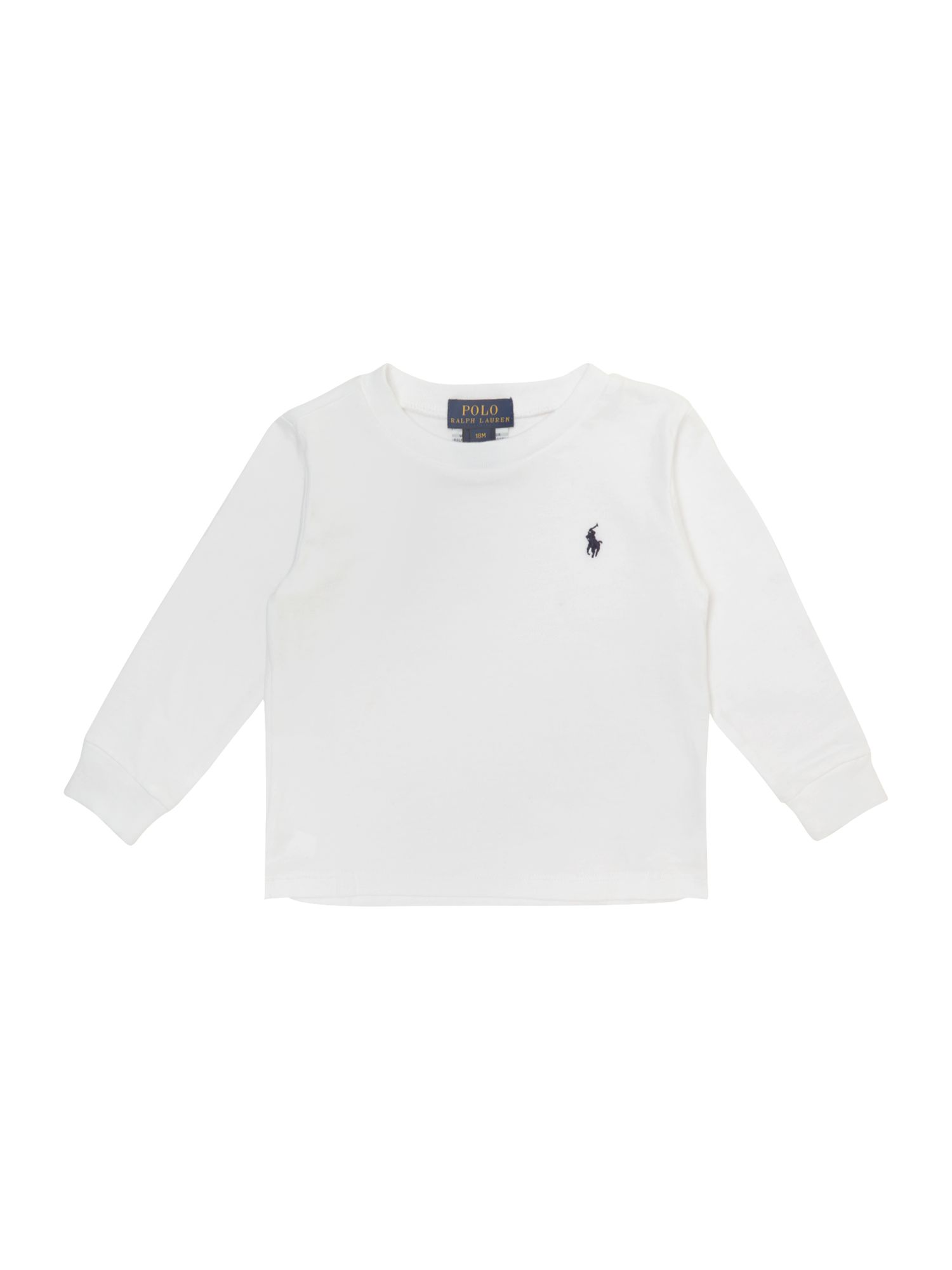 Boys classic jersey t-shirt with small pony