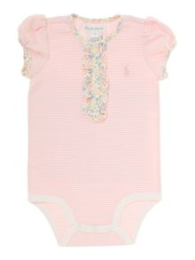 Baby Girls Floral Body Suit