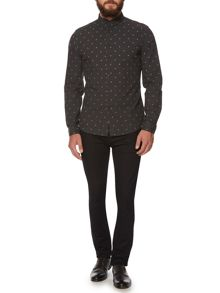 Judd Long Sleeved Star Print Shirt