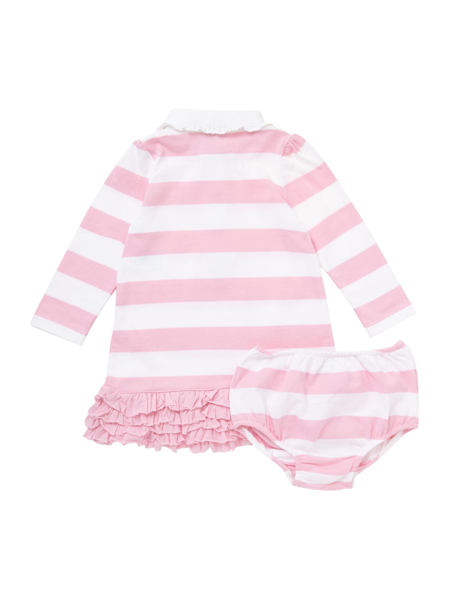 Baby girls rugby dress with knickers
