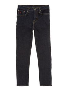 Boys slim fit dark wash jean