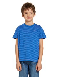 Boys crew neck striped t-shirt