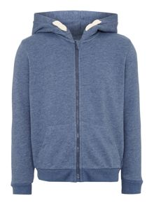 Boys zip through hoody