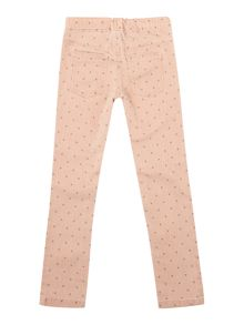 Girls spotty jeggings