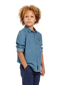 Boys western style denim shirt