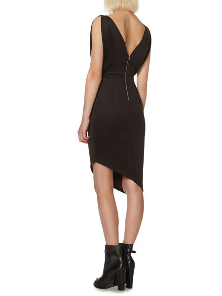 Label Lab Scuba bodycon dress