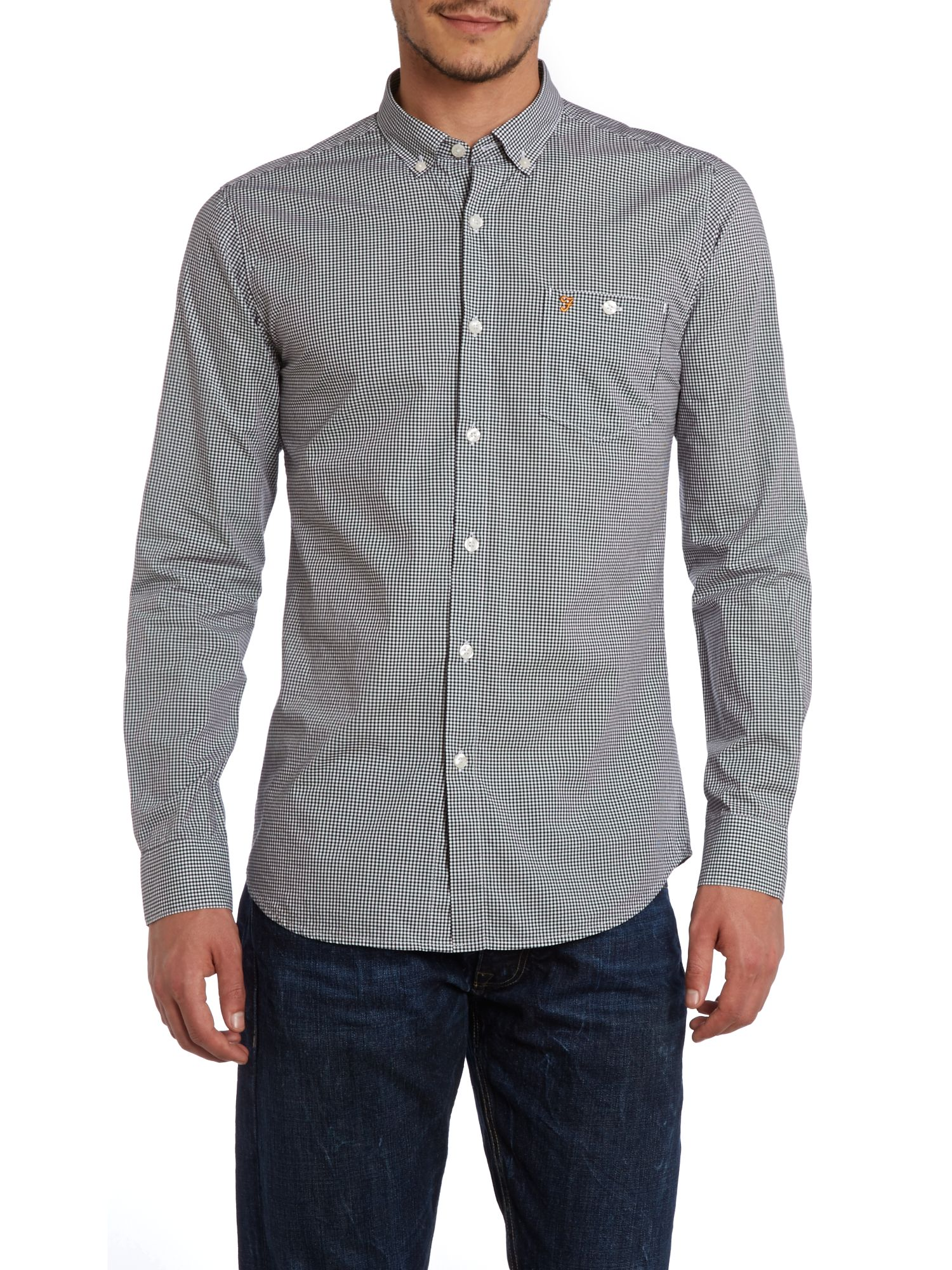 Youlton gingham long sleeve shirt