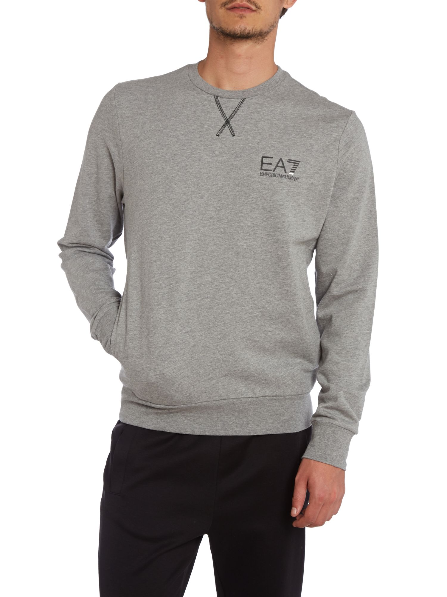 Core plain sweat top