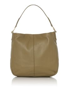 Newlyn green pocket hobo bag
