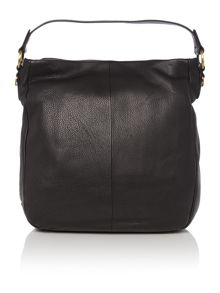 Beamish black medium hobo bag