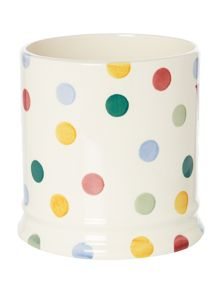 Emma Bridgewater Polka Text Wooden Spoon Utensils Jar