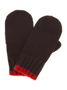 Boys knitted mittens