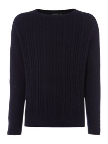 Connaught Cable Crew Neck Knit