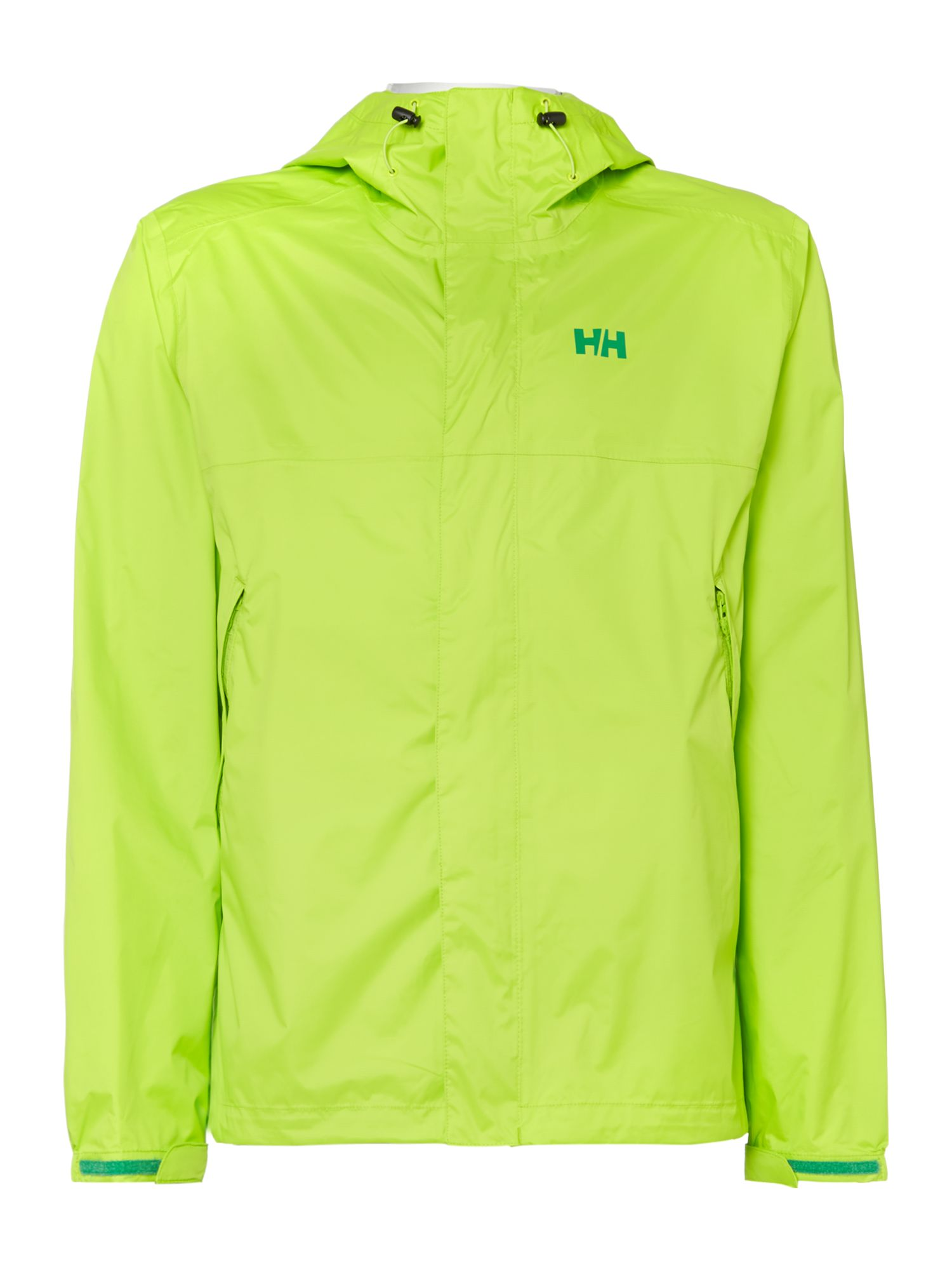 Mens Helly Hansen Loke Jacket Lime