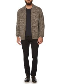 Dan zip through cardigan
