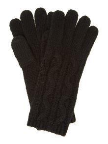 Chunky Cable Long Glove