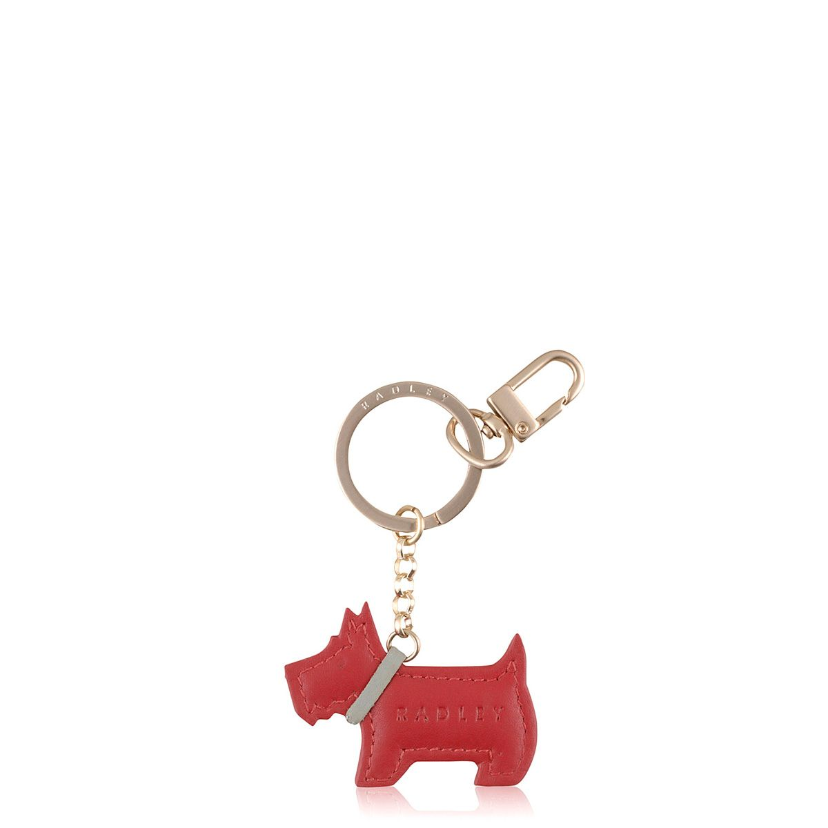 Red go walkies key ring