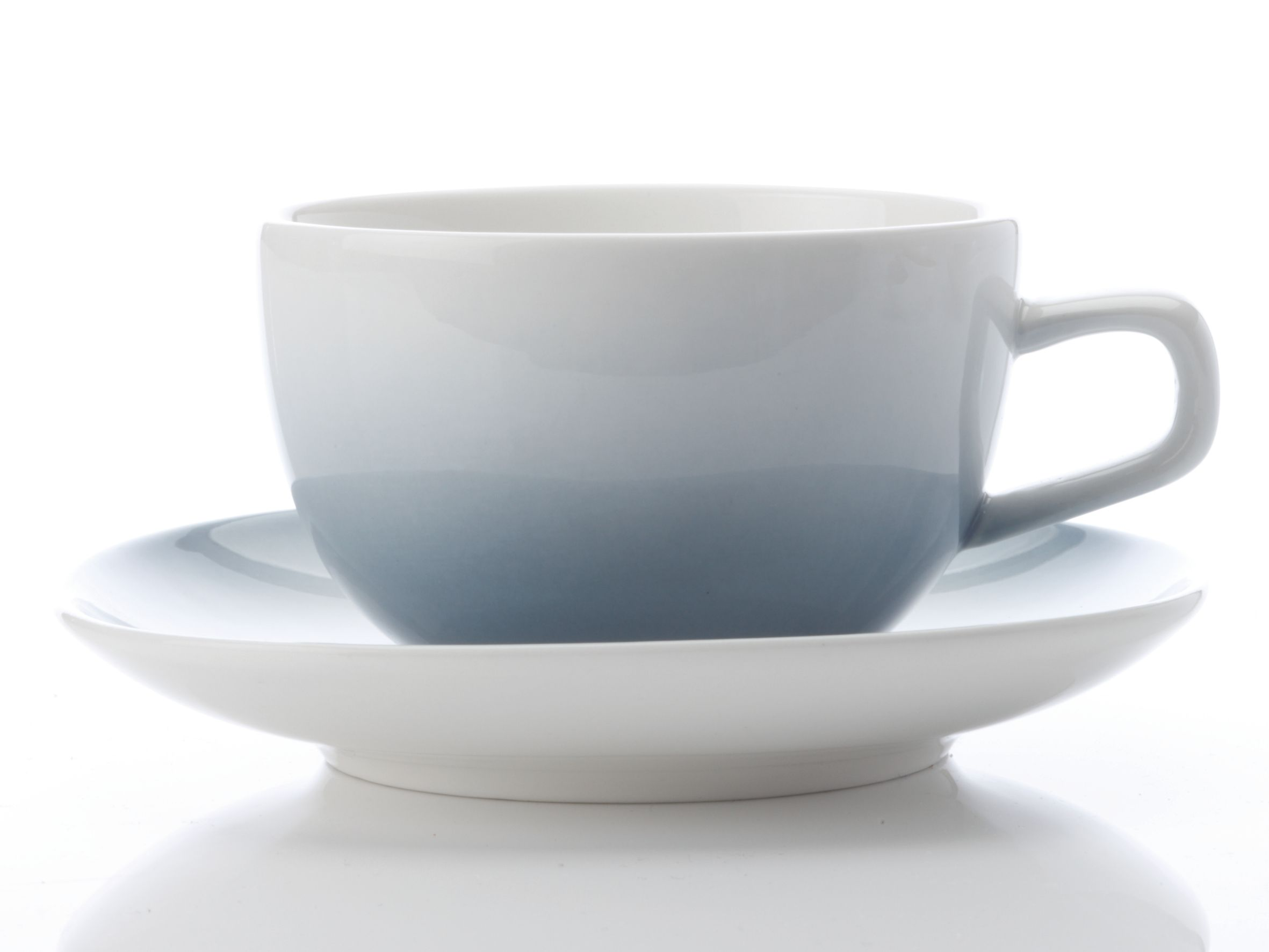 Bisou Cup & Saucer grey