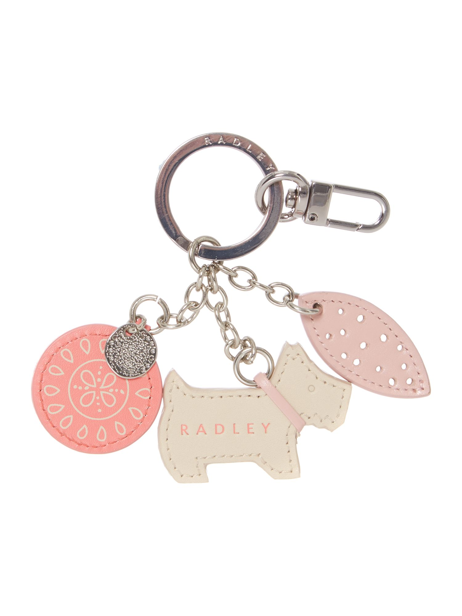 Pink highgate key ring