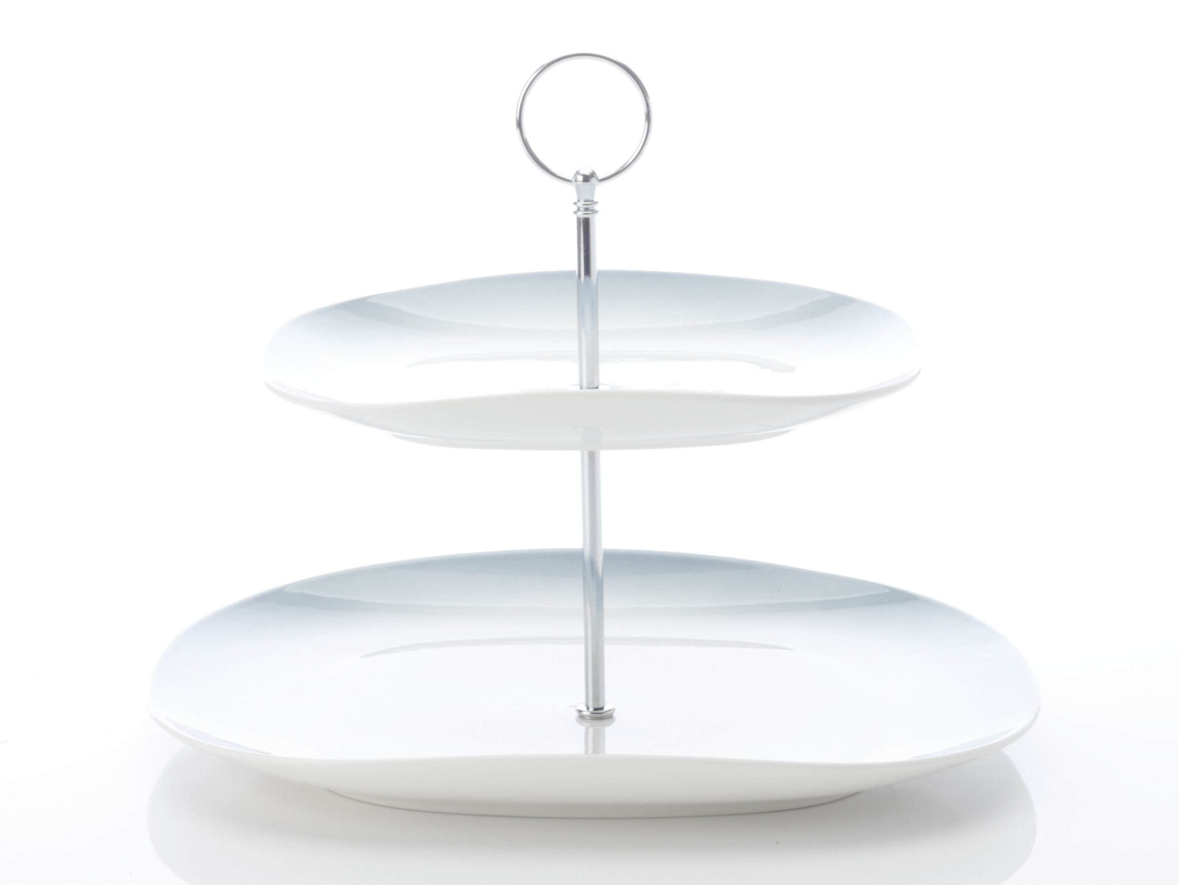Bisou 2 Tier Cake stand grey
