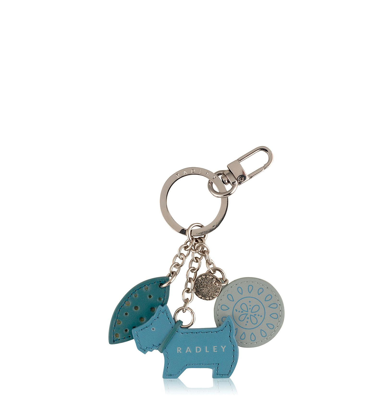 Blue highgate key ring