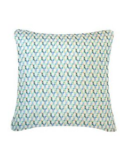 Small Braids cushion in blue 45x45