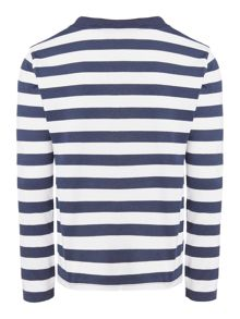 Boy`s stripe top