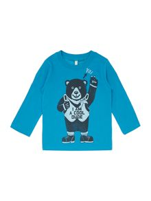 Boy`s cool dude graphic top