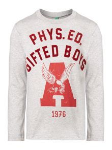 Boy`s phys. ed graphic top