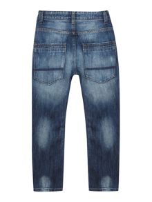 Boy`s easy fit washed denim jean