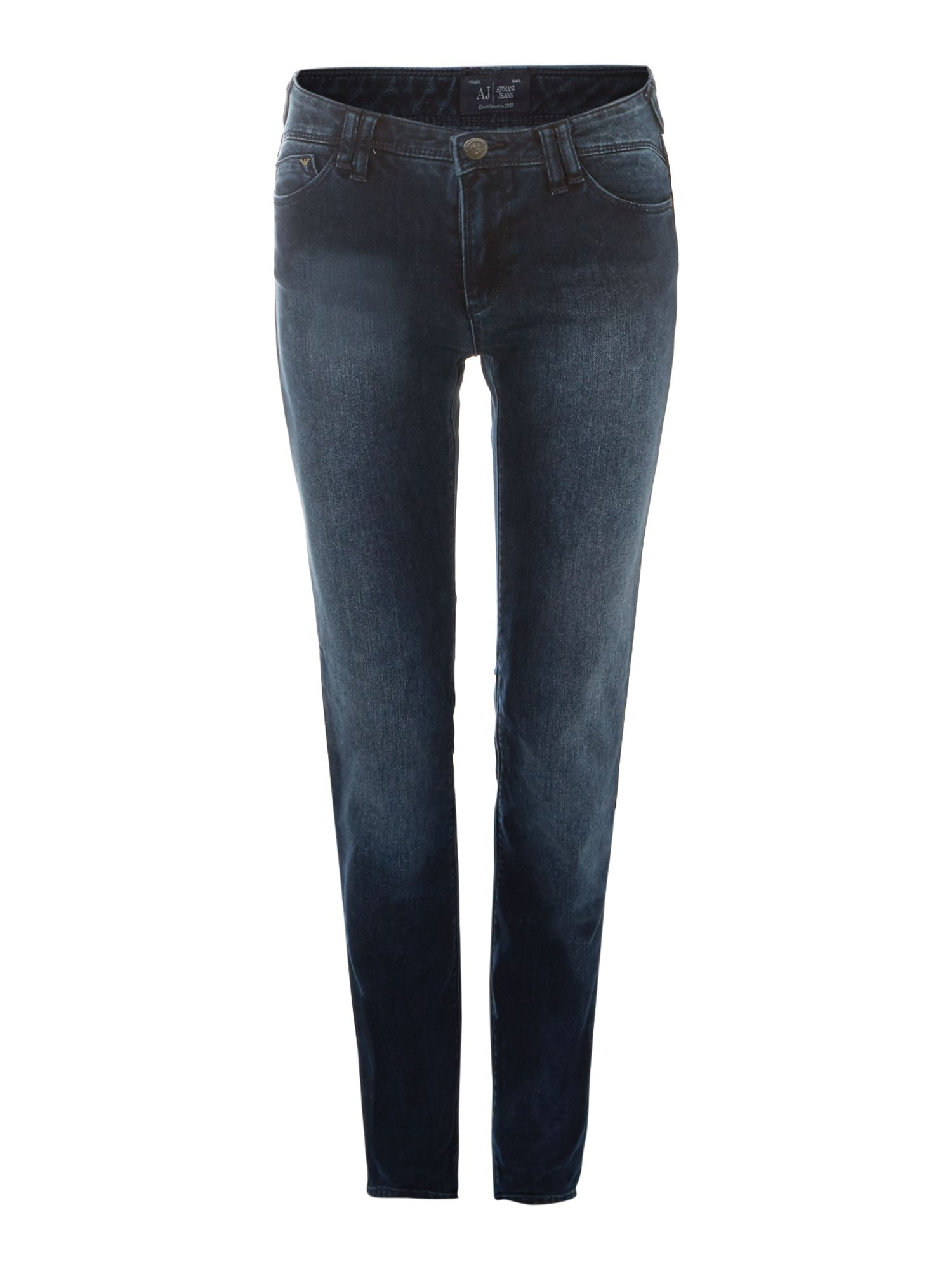 J28 skinny jeans with stretch pocket detail