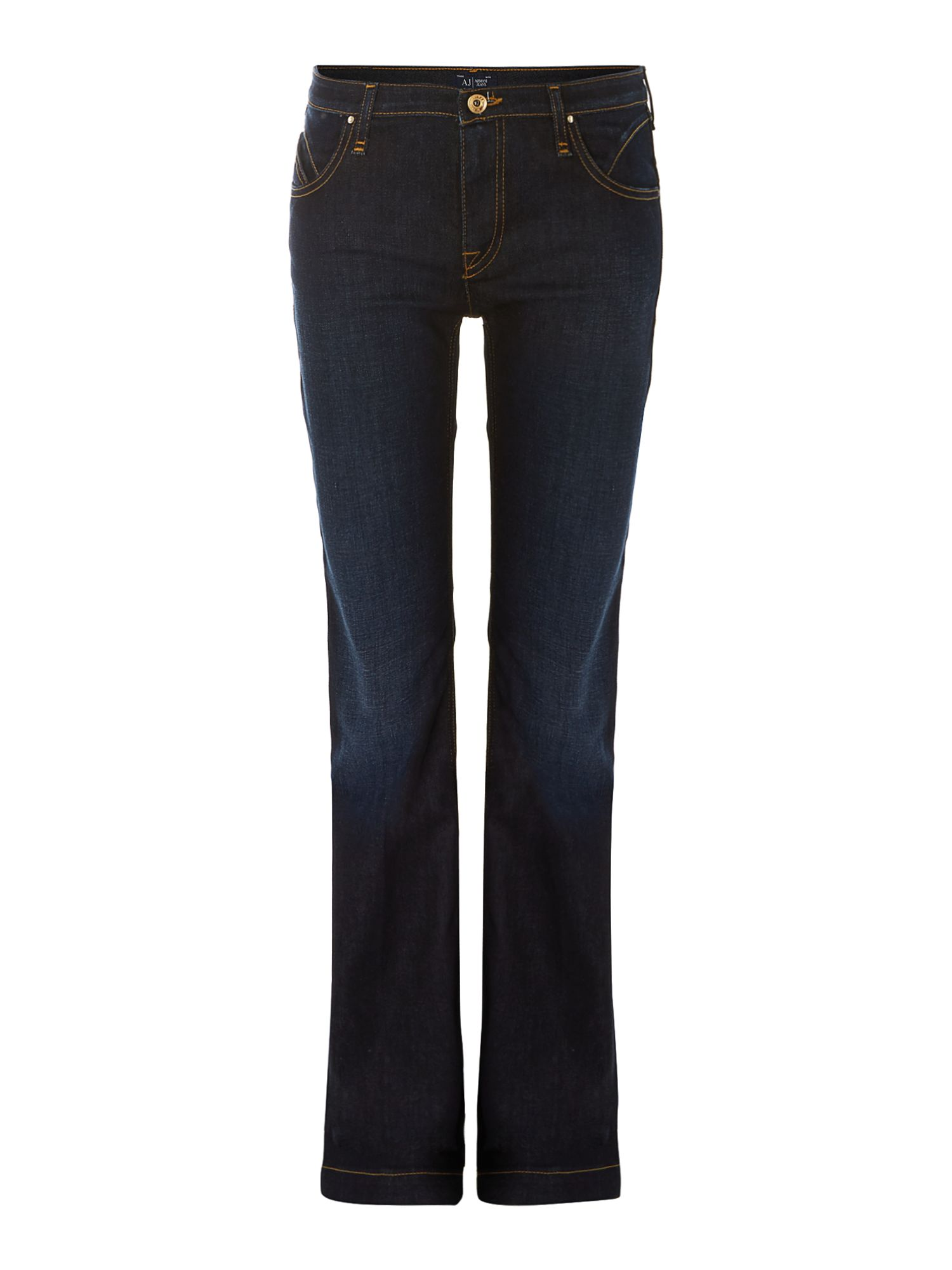 J07 slim fit flare jeans