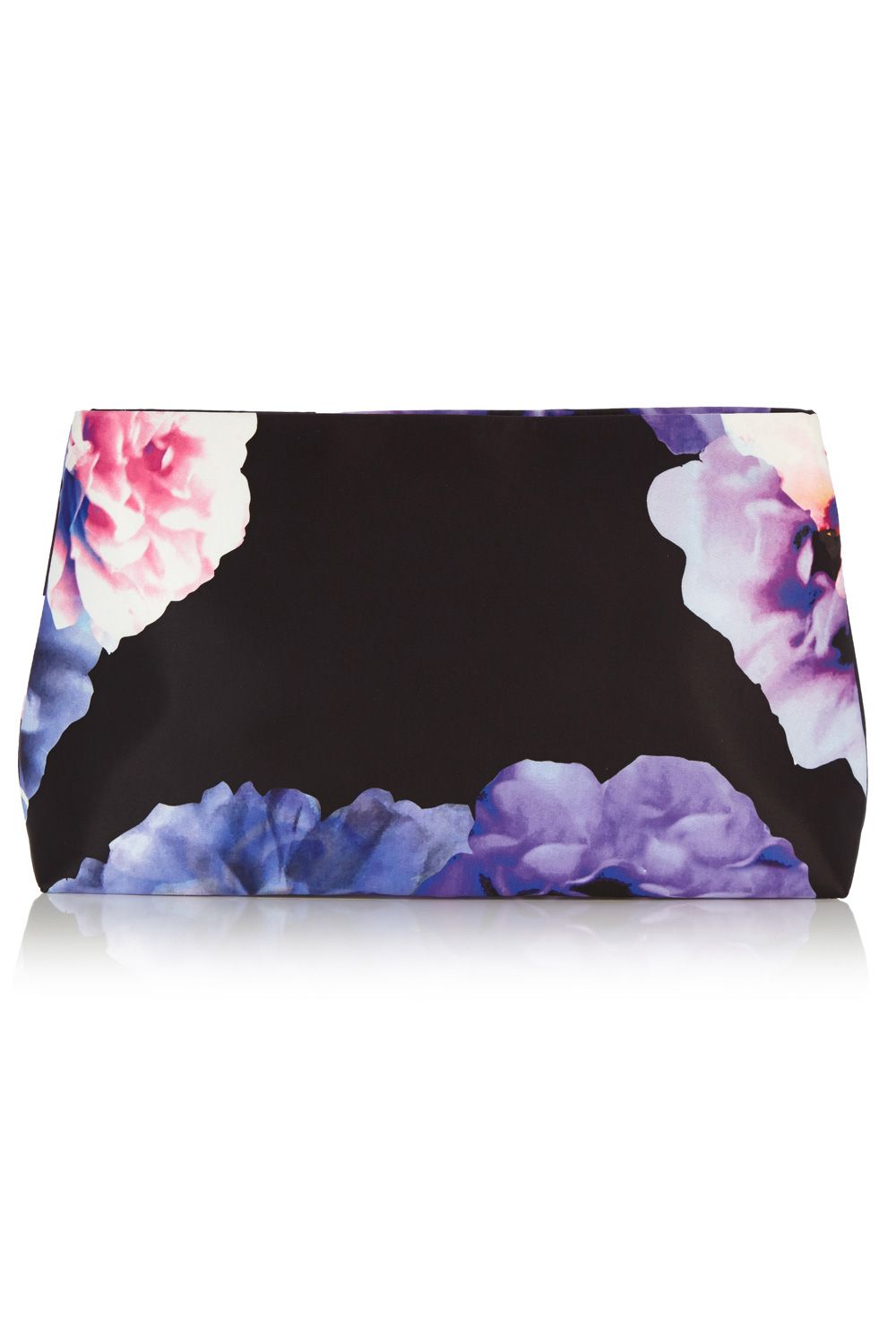 Zaza printed clutch