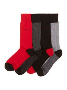 Sock 4 pack in gift box