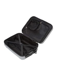 Linea Dakota silver medium 4 wheel suitcase