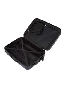Dakota navy 4 wheel hard cabin suitcase