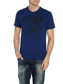 T-bert mohican anywhere logo t shirt