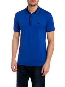 Slim polo shirt