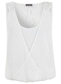 Ivory Dobby Lace Top