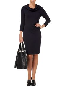 Carlie cowl knit dress